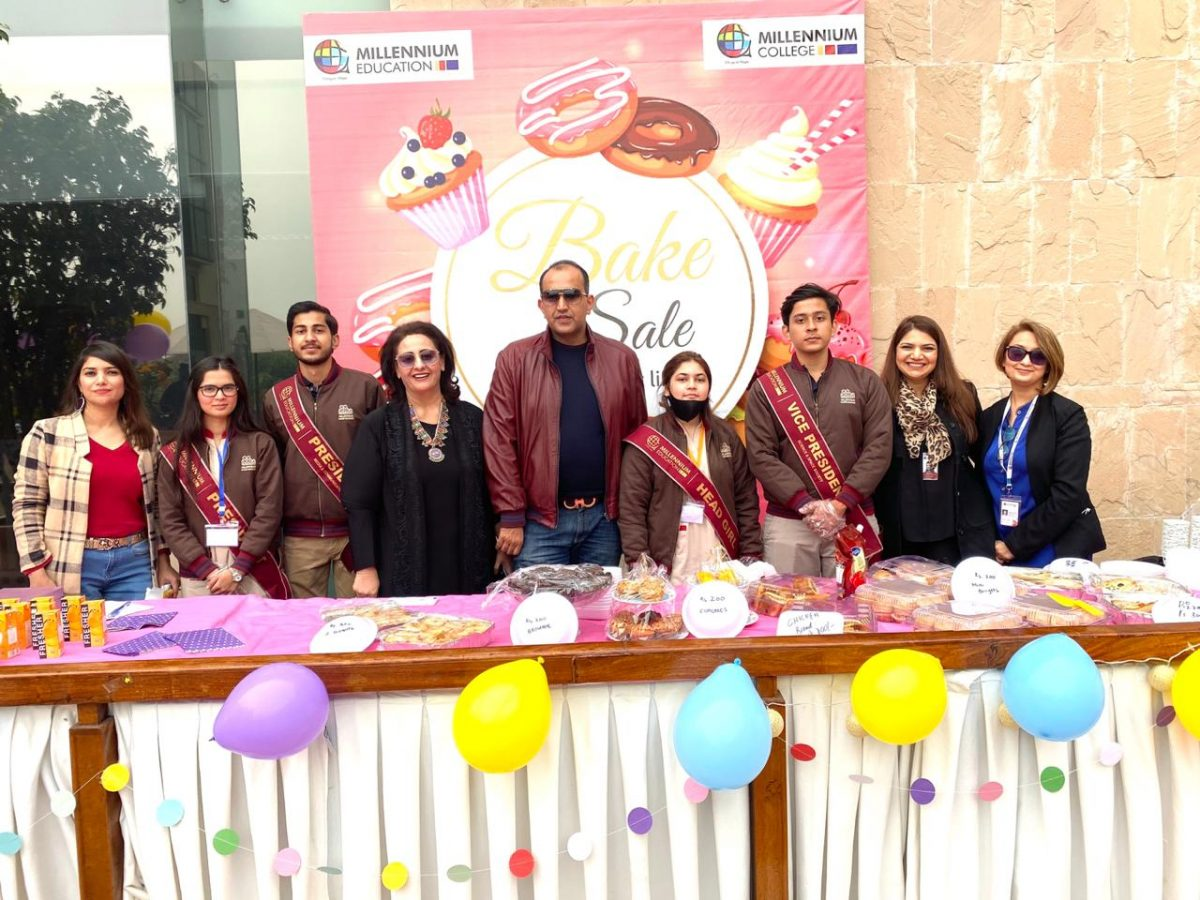 bake sale of TME students