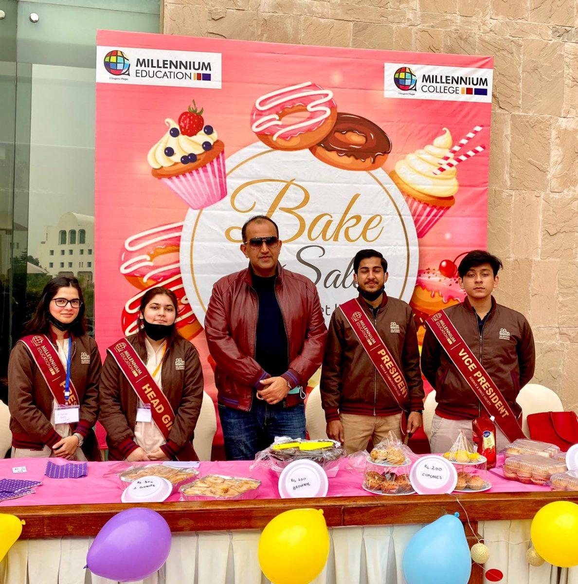 Millennials Bake Sale at IFWA CHARITY BAZAAR SERENA HOTEL ISLAMABAD