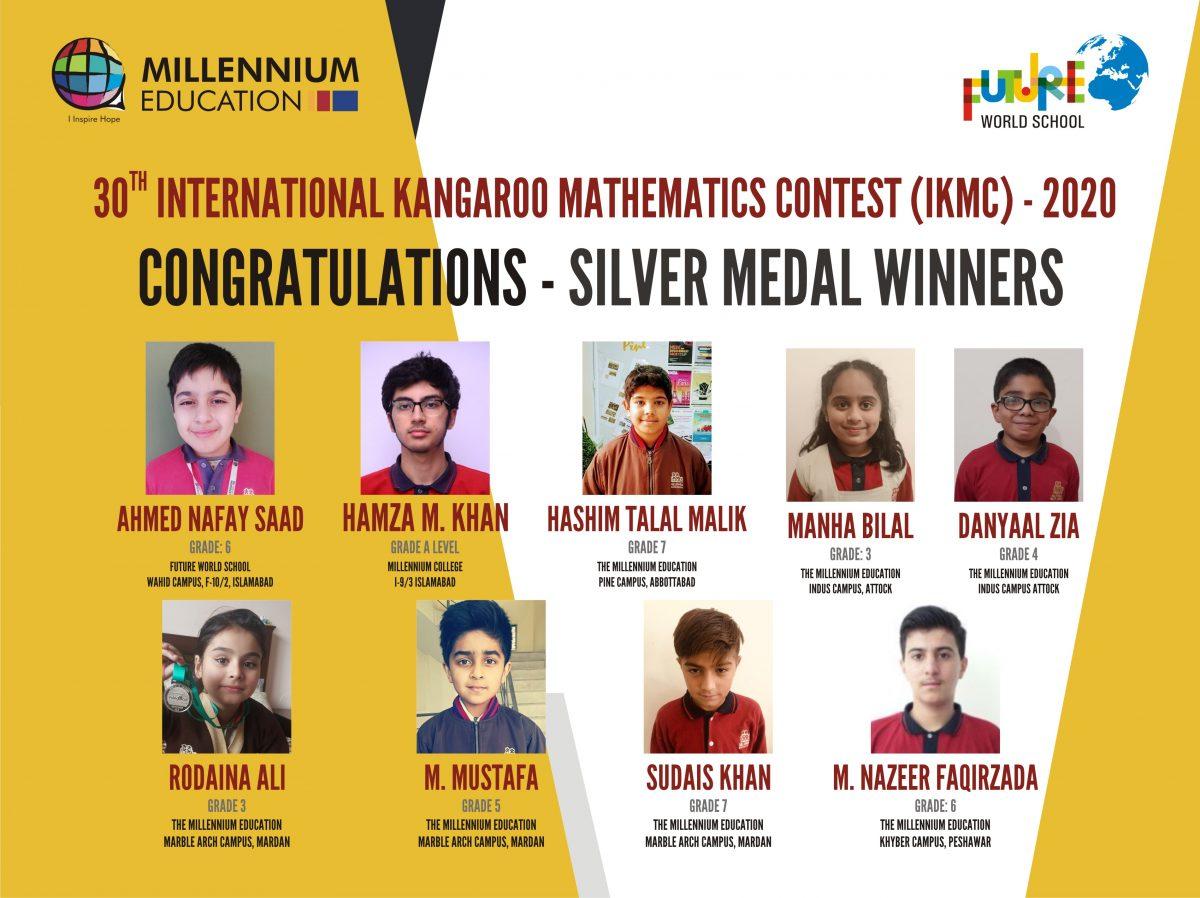 Millennials Participation in the 30th International Kangaroo Mathematics Contest – IKMC 2020