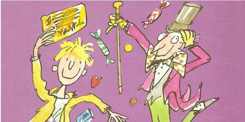 Favorite Book : Charlie and the Chocolate Factory
