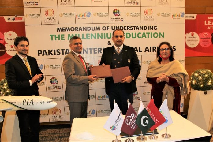 PIA signed MOU with The Millennium Education