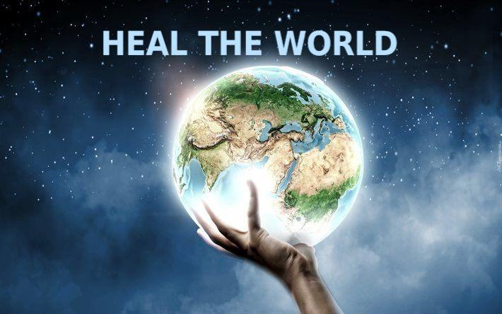 Let's Heal the World with Happiness