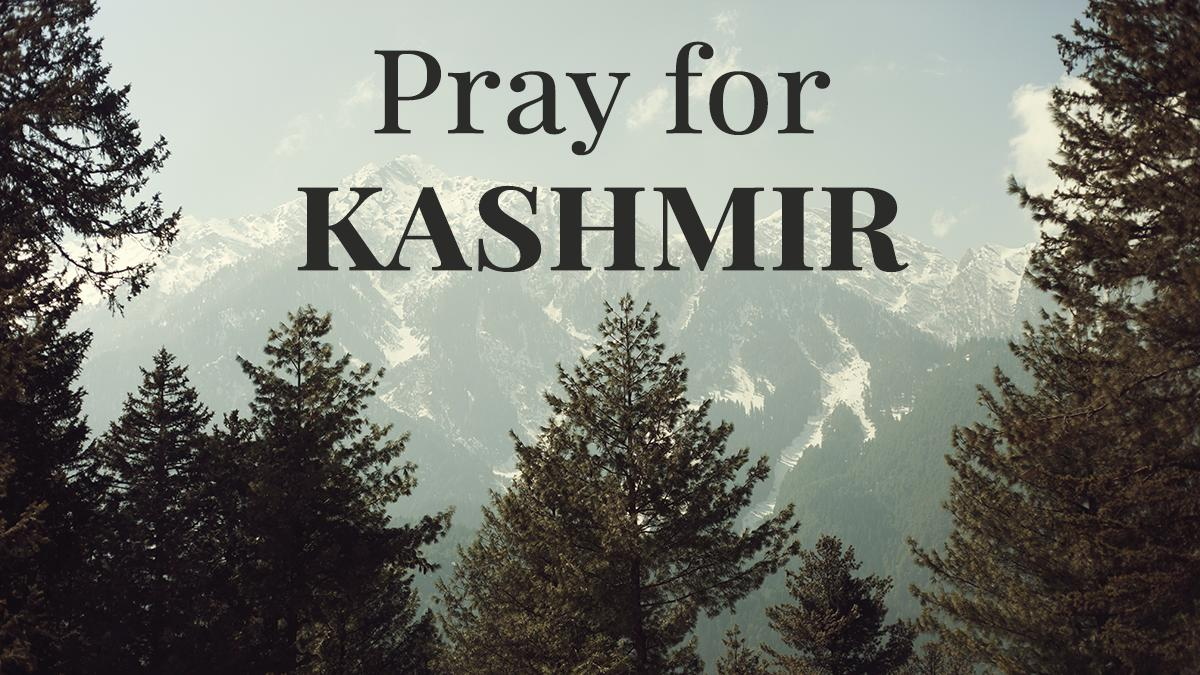 Pray for Kashmir The Bleeding Eden