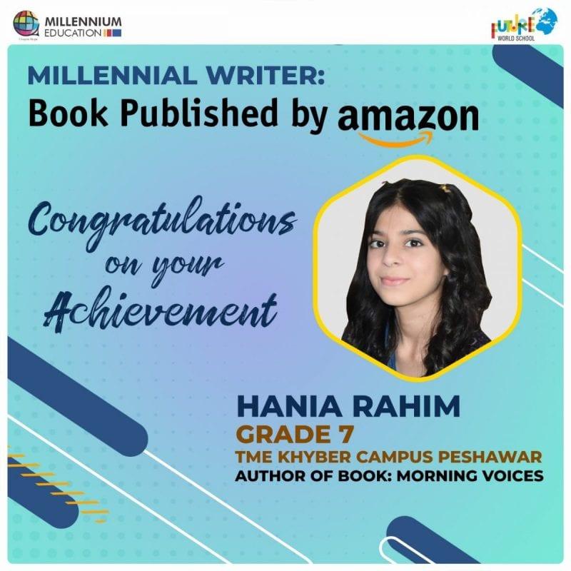 Millennial Writer – Hania Rahim